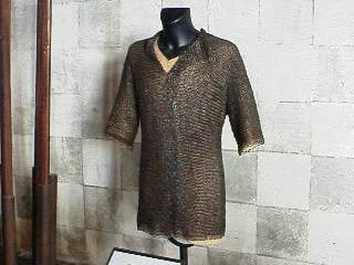 The latest in Chainmail fashion circa 1500's